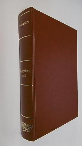 Dioscorides Kreutterbuch 1610 (Rückentitel) - Kräuterbuch deß: Dioscorides, Pedanius: