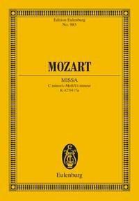 Missa c-Moll /C minor / Ut mineur: Mozart, Wolfgang Amadeus