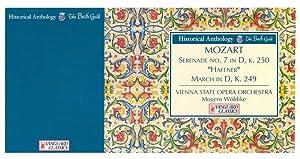 "Mozart: Serenade No. 7, ""Haffner"" (March in: Wöldike, Mogens, Philipp"
