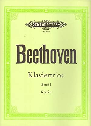 Klaviertrios Band I. (=edition peters Nr. 166 a).