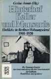 9783499176685 Hinterhof Keller Und Mansarde Einblicke In