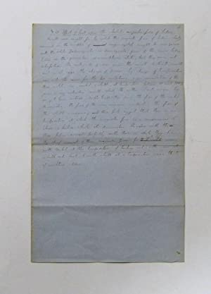 Autograph manuscript titled:] The effect of heat upon the absolute magnetic force of bodies.: ...