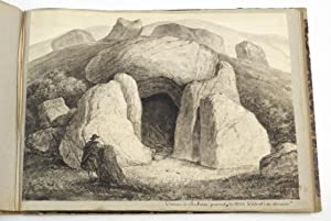 An album of 36 watercolours of European megaliths.: PERGER, Anton, Ritter von