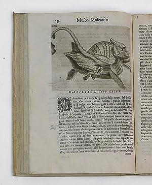 Note overo memorie del Museo di Lodovico Moscardo. et in tre libri distinte. Nel primo si discorre ...