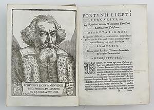 De regulari motu minimaque parallaxi cometarum caelestium disputationes .[bound with:] De terra ...