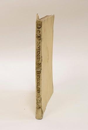 Tractatus de proportionum instrumento, quod merito compendium: GALILEI, Galileo and