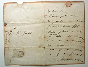 Autograph letter signed, to the ornithologist and: DARWIN, Charles