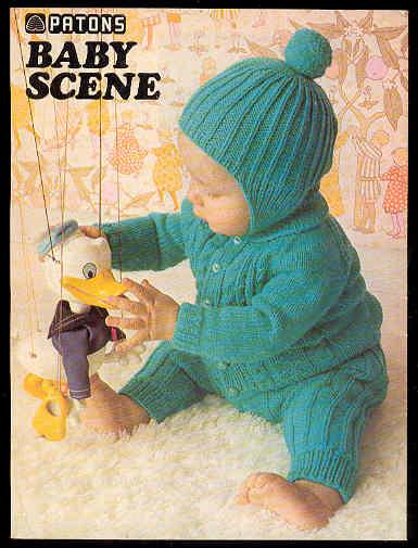 Patons 180 - BABY SCENE Knitting and Crochet