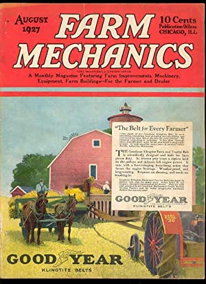 FARM MECHANICS Magazine , August 1927 , Vol 17, No. 4