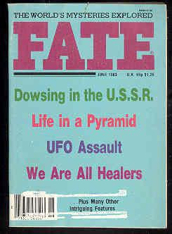 FATE Magazine , June 1983, Vol. 36, No. 6, Issue 399