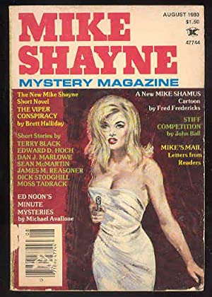 MIKE SHAYNE Mystery Magazine , August 1980