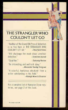 6 THE STRANGLER WHO COULDN'T LET GO: Hampton Stone ( Aaron Marc Stein)