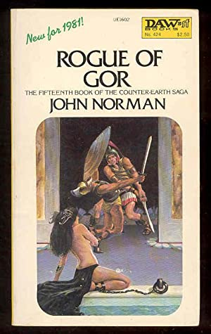 ROGUE OF GOR , 15th book of the Counter-Earth Saga