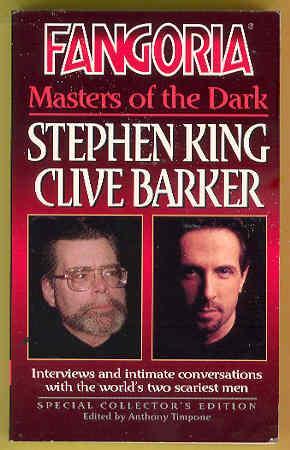 Order of Clive Barker Books