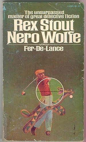FER-DE-LANCE [Nero Wolfe]: Rex Stout