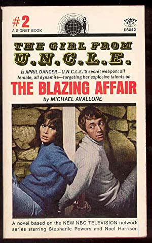 THE BLAZING AFFAIR the Girl from U.N.C.L.E. #2