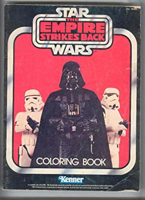 STAR WARS the Empire Strikes Back Coloring Book (no. 19090)