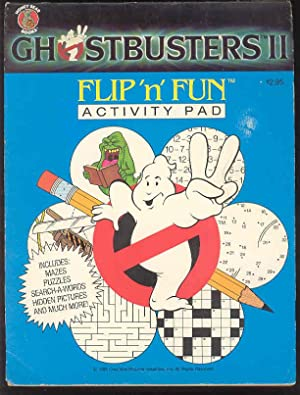 GHOSTBUSTERS II Flip 'n' Fun Activity Pad