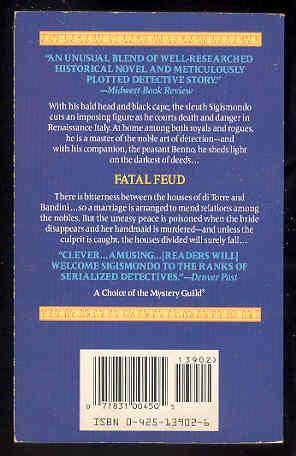DEATH OF THE DUCHESS - A Renaissance Mystery: Elizabeth Eyre