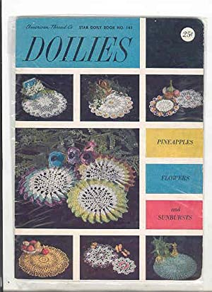 DOILIES Star Doily Book No. 145, Pineapples, Flowers, and Sunbursts