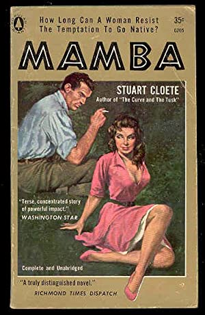 MAMBA , a Novel of African Bush: Stuart Cloete