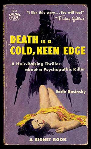 DEATH is a COLD, KEEN EDGE