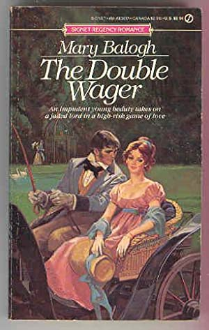 THE DOUBLE WAGER, Signet Regency Romance: Mary Balogh