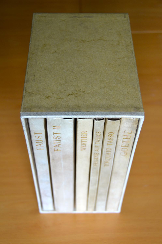 Vialibri The Complete Doves Press Goethe Faust Faust