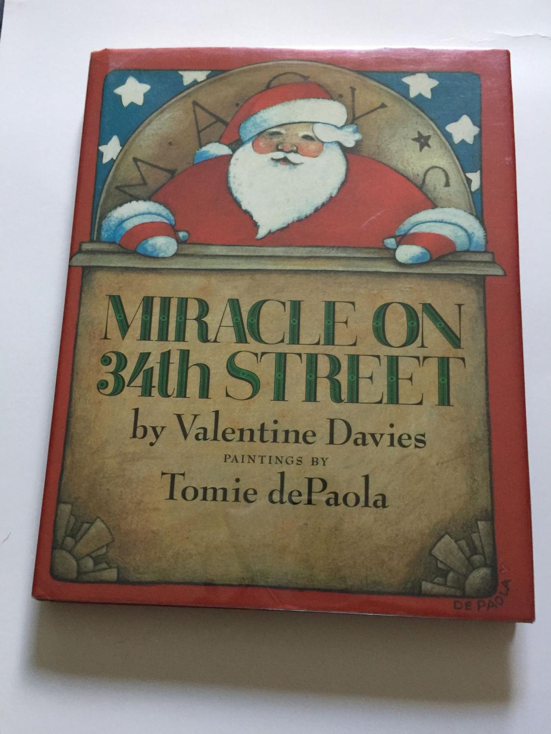 miracle of 34th street by valentine davies abebooks