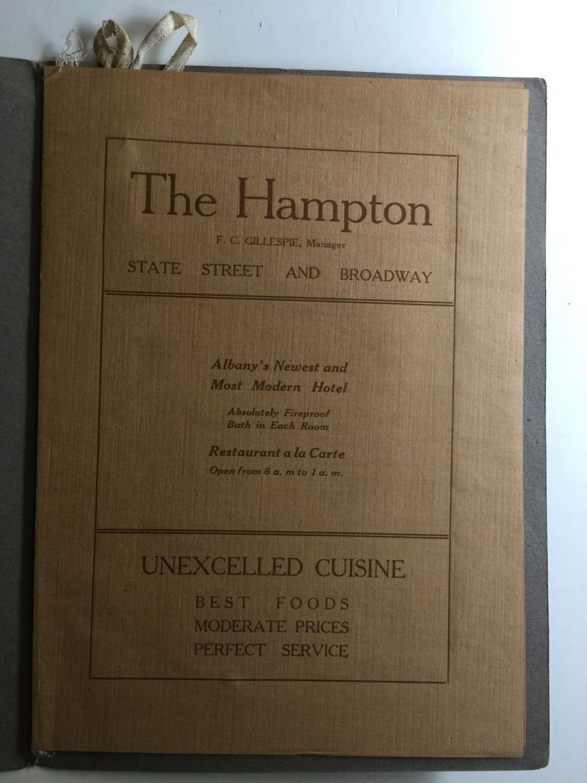 1809 Menu hudson river celebration 1809 1909 menu