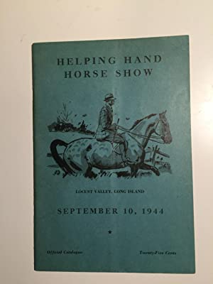 Official Program Helping Hand Horse Show (Member: N/A