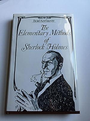 The Elementary Methods of Sherlock Holmes: Keefauver, Brad
