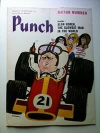 Punch MOTOR NUMBER Inside: ALAN COREN THE SLOWEST MAN IN THE WORLD 14-20 October 1970