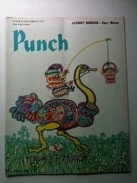 PUNCH ANTHONY BURGESS -- Easy Money 25 SEPTEMBER 1968