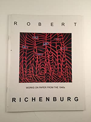 Robert Richenburg Works On Paper From The: NY: David Findlay