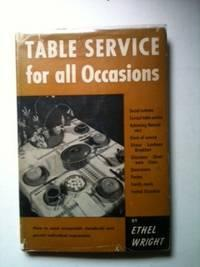 Table Service for all Occasions