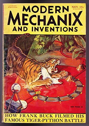 Modern Mechanix and Inventions, November 1932, Volume IX, No. 1.