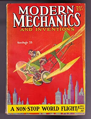 Modern Mechanics and Inventions, May 1929, Vol. II, No. 1