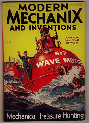 Modern Mechanix and Inventions, August 1932, Volume IIX, No. 4.