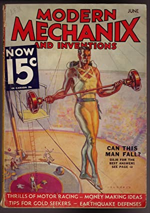 Modern Mechanix and Inventions, JUne 1933, Volume X, No. 2.