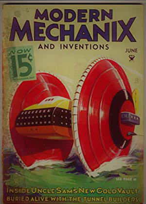 Modern Mechanix and Inventions, June 1934, Volume XII, No. 2.