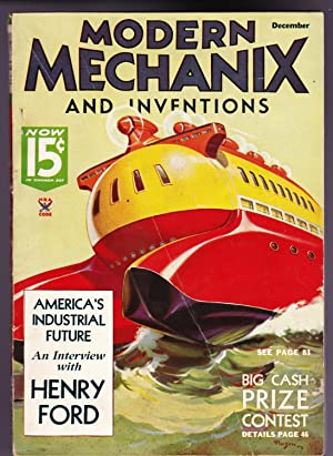 Modern Mechanix and Inventions, December 1934, Volume XIII, No. 2.