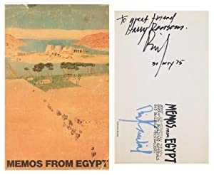 MEMOS FROM EGYPT: Joint US-Egyptian Study Group on Building Materials and Building Technology.: ...