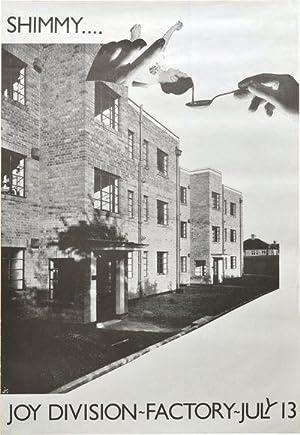 SHIMMY.JOY DIVISION - FACTORY - JULY 13 [Original Concert Poster]: Joy Division]