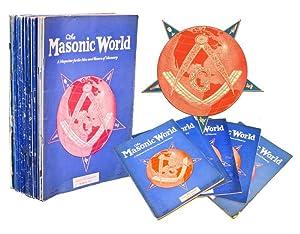 THE MASONIC WORLD: A Magazine for the Men and Women of Masonry [20 Issues]: John E. Houston, Gen. ...