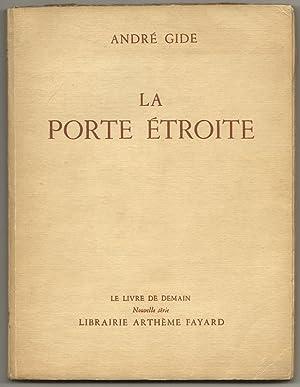 LA PORTE ETROITE: GIDE, Andre