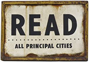 READ: All Principal Cities [Original Artwork]: THE READER,