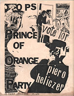[Flyer Sent to Ira Cohen from Piero Heliczer]