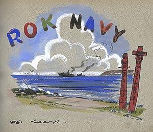 ROK NAVY [Interior Title, Original Photograph Album]: ENGLAND, John A.