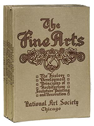 THE FINE ARTS: A University Course in Sculpture, Painting, Architecture, and Decoration; In Their ...
